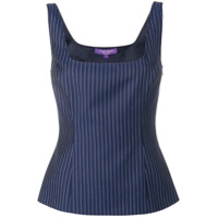 Ralph Lauren Collection Stripe Pattern Top - Azul