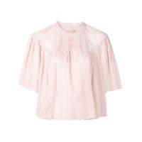 Isabel Marant Étoile Algar Vintage Lace Top - Rosa