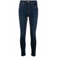 Rag & Bone /jean Calça Jeans Skinny Com Cintura Alta - Azul