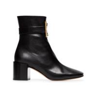 Givenchy Ankle Boot '4G' De Couro - Preto