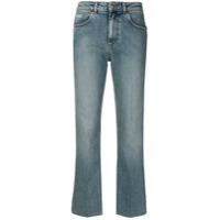 Alexa Chung Calça Jeans Reta - Azul