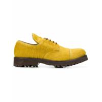 Holland & Holland Sapato Com Pelo De Bezerro - Amarelo