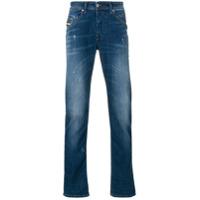 Diesel Calça Jeans Reta 'belther' - Azul