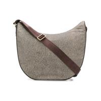 Borbonese Luna Shoulder Bag - Neutro