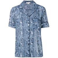 Michael Michael Kors Camisa Com Estampa Paisley - Azul