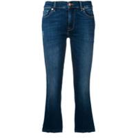 7 For All Mankind Calça Jeans Slim Cropped - Azul