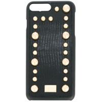 Dolce & Gabbana Capa De Iphone Com Aplicações - Preto