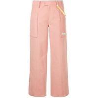 Ader Error Calça Cropped - Pink Pink
