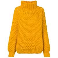 I Love Mr Mittens Suéter De Tricô - Amarelo