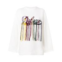 Golden Goose Deluxe Brand Blusa De Moletom Com Bordado De Logo - Branco