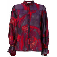Koché Classic Fitted Shirt - Rosa