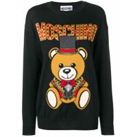 Moschino Suéter 'teddy' - Preto