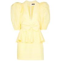 Rotate Vestido Xadrez Johanna - Amarelo