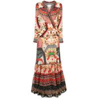 Camilla Vestido De Seda Floral - Estampado
