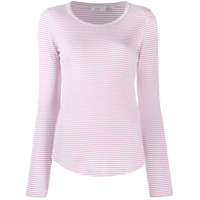 Closed Striped Jersey Top - Rosa