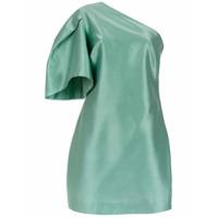 Tufi Duek Vestido Curto Assimétrico - Verde