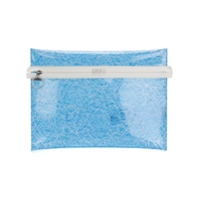 Mm6 Maison Margiela Clutch Transparente - Azul