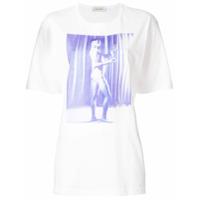 Wales Bonner Camiseta Mangas Curtas Com Estampa - Branco