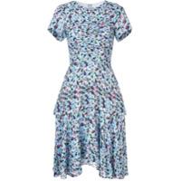 Jason Wu Collection Vestido De Seda Floral - Azul