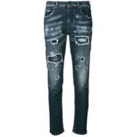 Jacob Cohen Calça Jeans Slim - Azul