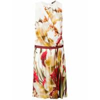 Roberto Cavalli Vestido Com Estampa Floral - Estampado