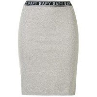 Bapy By *a Bathing Ape® Saia Slim Com Logo - Cinza
