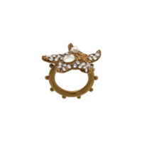 Versace Anel 'starfish' - Metálico