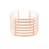 Shaun Leane Bracelete 'quill' De Prata Com Banho Em Ouro Rosé - Metálico