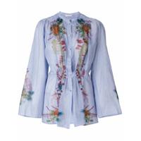Etro Camisa Floral - Azul