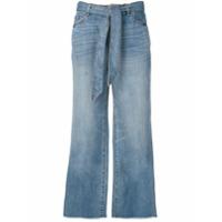 Armani Exchange Calça Pantalona - Azul