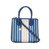 Michael Kors Mercer Medium Accordion Tote Bag - Azul