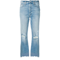 Mother Calça Jeans Flare Misbeliever - Azul