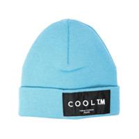 Cool T.m Gorro De Tricô Com Patch De Logo - Azul