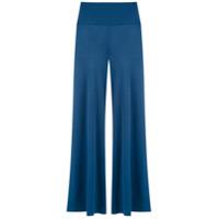 Alcaçuz Calça 'lastro' Pantalona - Azul