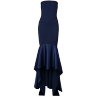 Solace London Vestido Longo Kerama - Azul