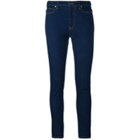 Vivienne Westwood Anglomania Calça Jeans Skinny Cropped - Azul