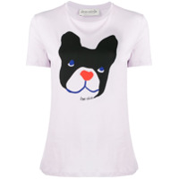 Être Cécile Camiseta 'big Dog' - Roxo