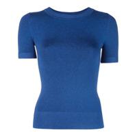 Joostricot Blusa Slim De Lurex - Azul