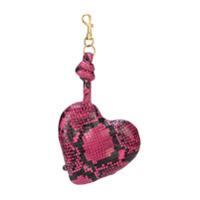 Anya Hindmarch Chaveiro Heart - Rosa