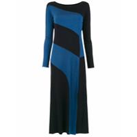Alcaçuz Vestido 'lourenço' Midi - Azul