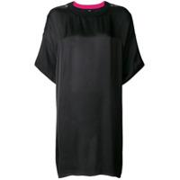 Diesel Camiseta Oversized - Preto