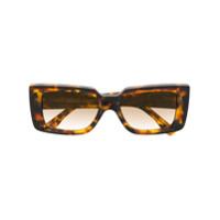 Cutler & Gross Óculos De Sol Tartaruga - Marrom