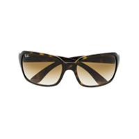 Ray-Ban Óculos De Sol Tartaruga - Marrom
