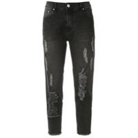 Amapô Calça Jeans Boyfriend 'indie' - Preto