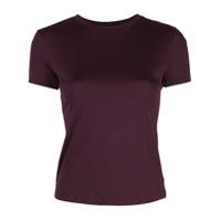Theory Camiseta Mangas Curtas - Roxo