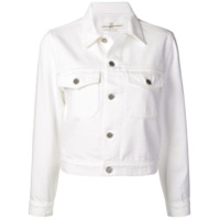 Golden Goose Deluxe Brand Denim Jacket - Branco