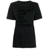Zadig&voltaire Camiseta Com Estampa De Slogan - Preto
