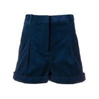 Stella Mccartney Short Cintura Alta - Azul