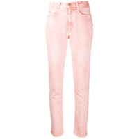 Stella Mccartney Calça Jeans Cintura Alta Destroyed - Branco
