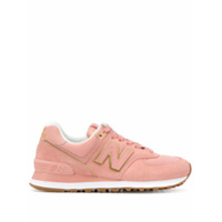 New Balance Panelled Sneakers - Rosa